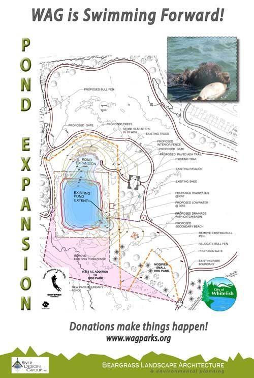Wag Dog Park Pond Expansion