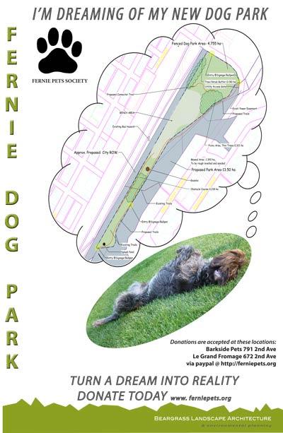 Fernie Dog park Fundraising