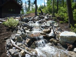 mountain stream landscape design