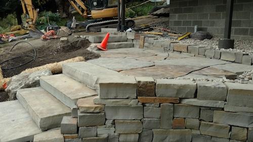 Stone wall whitman